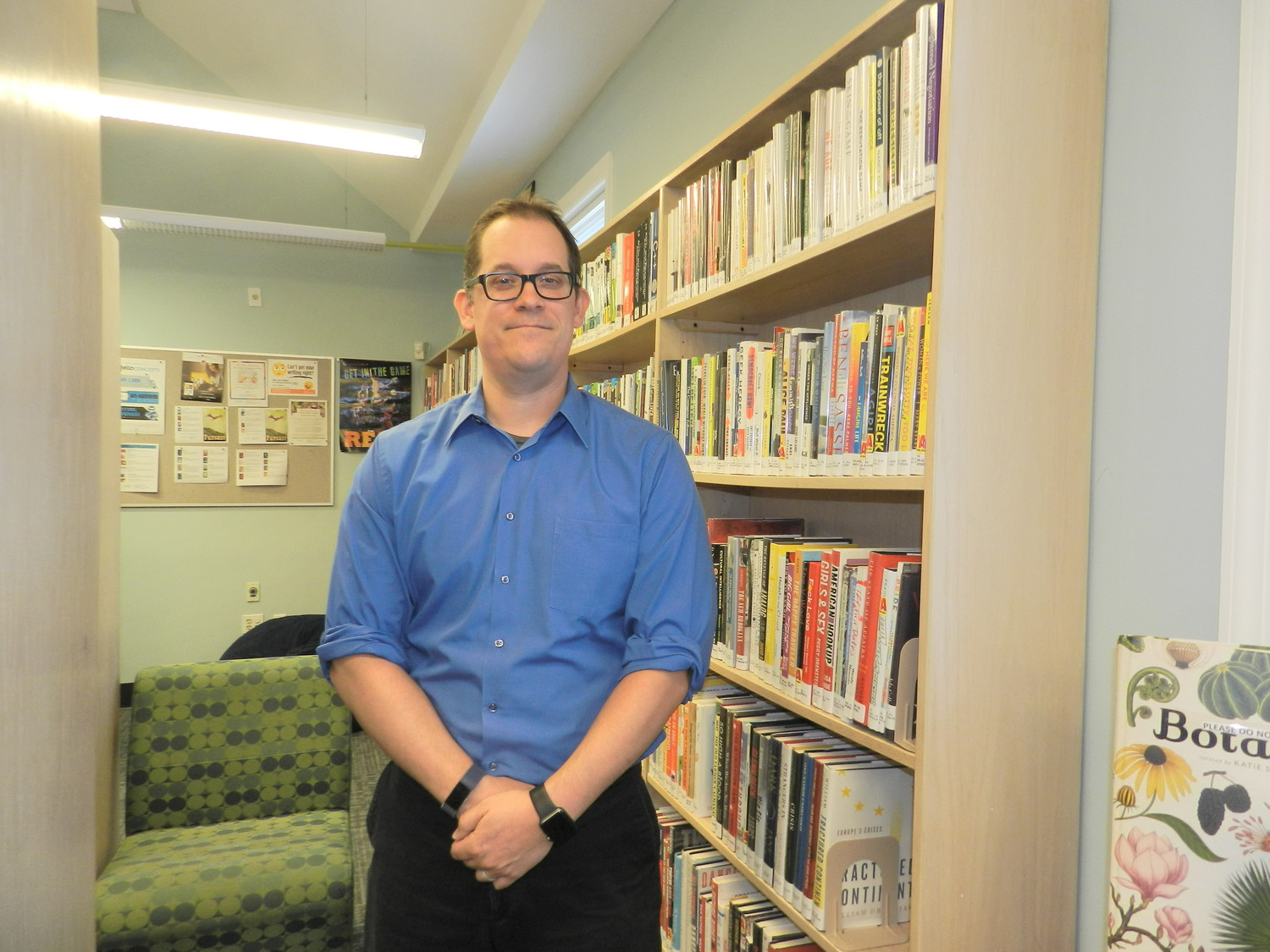 Michael Morea's fascination with libraries grew out of the Story Time programs he attended at his home library in Bethpage.