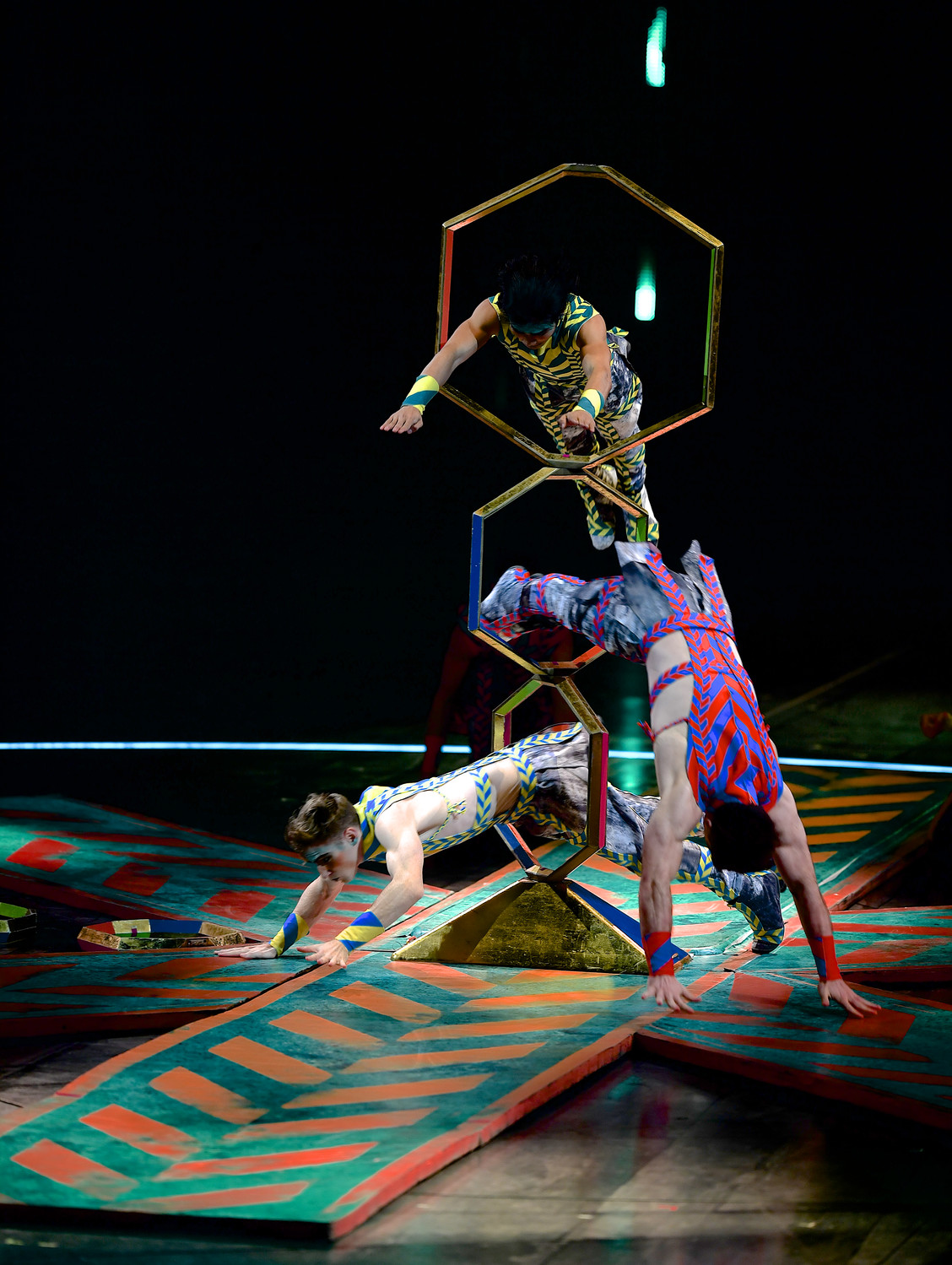 Cirque du Soleil delivers plenty of action at Nassau Coliseum.