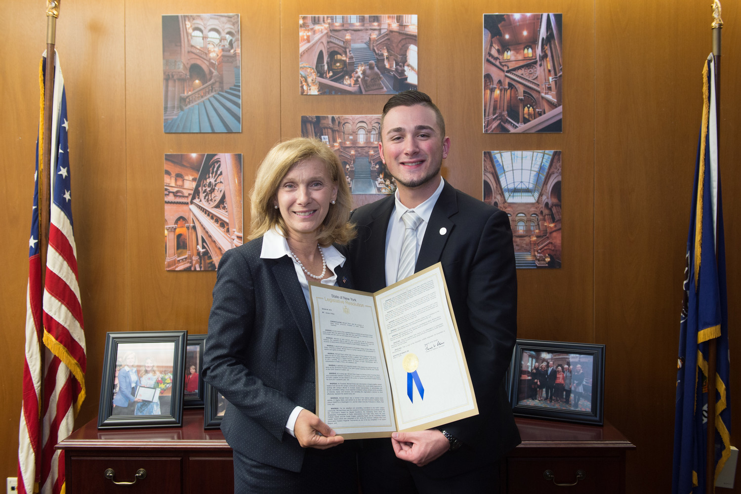 Courtesy Office of NYS Senator Elaine Phillips