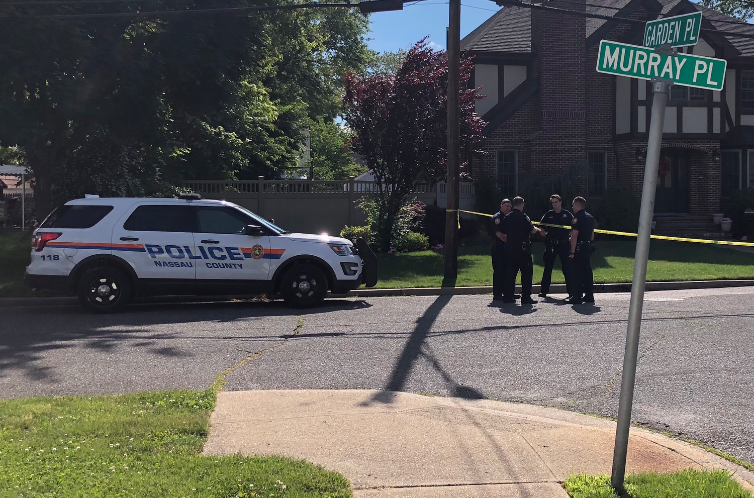 Police have been investigating an officer-involved shooting on Murray Place in Merrick.