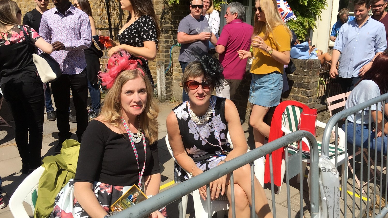 "Cara Maloney and Nanette Lavin watched the royal wedding in England last month after they won a contest from ""The Today Show."""