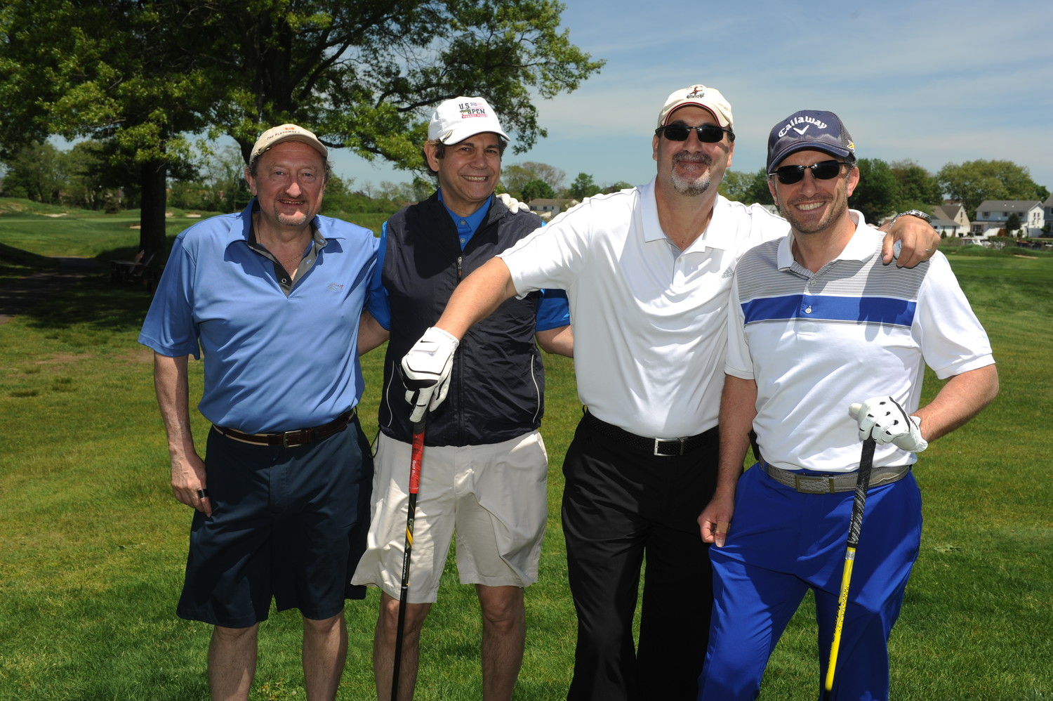 Doctors Raul Mendoza, left, David Tarkoff, Jason Freeman and Larry Kanner.