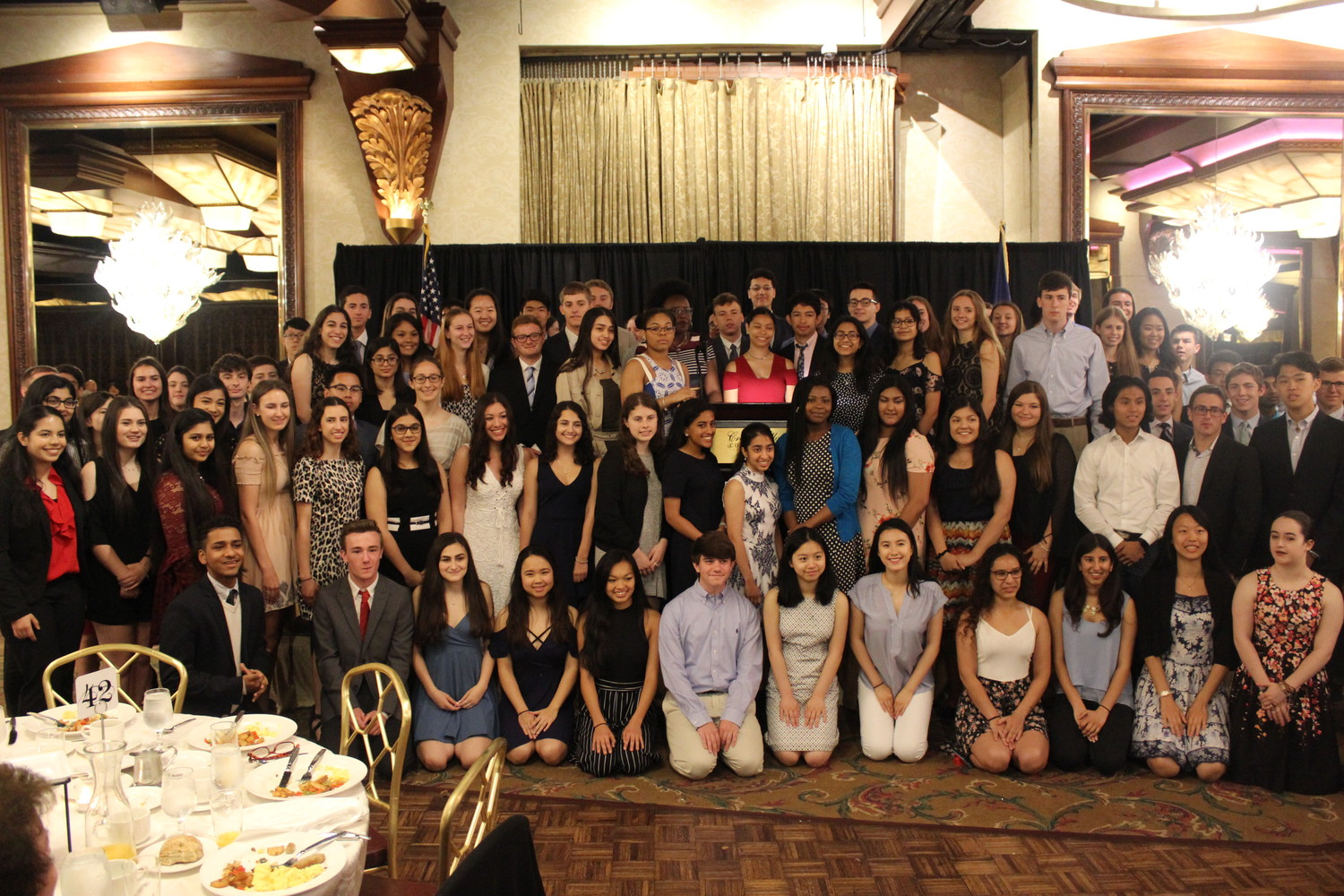 Nassau County's valedictorians and salutatorians were recognized for their achievements at a June 1 breakfast hosted by the Nassau County Council of School Superintendents.