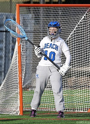 Sarah Reznick was a longtime standout in the cage for the Lady Marines and will compete at the next level at the University of Florida.