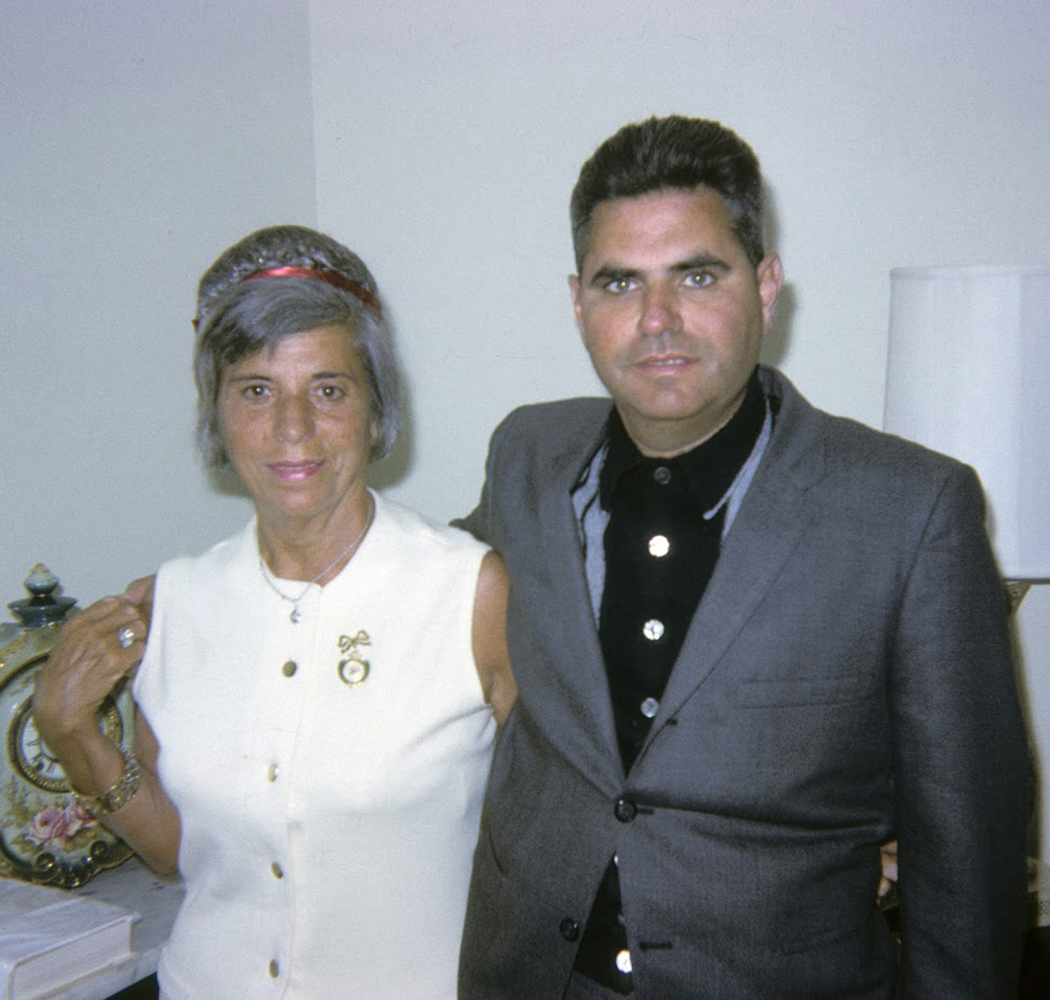 Wagner with his mother, Eva, in 1965.