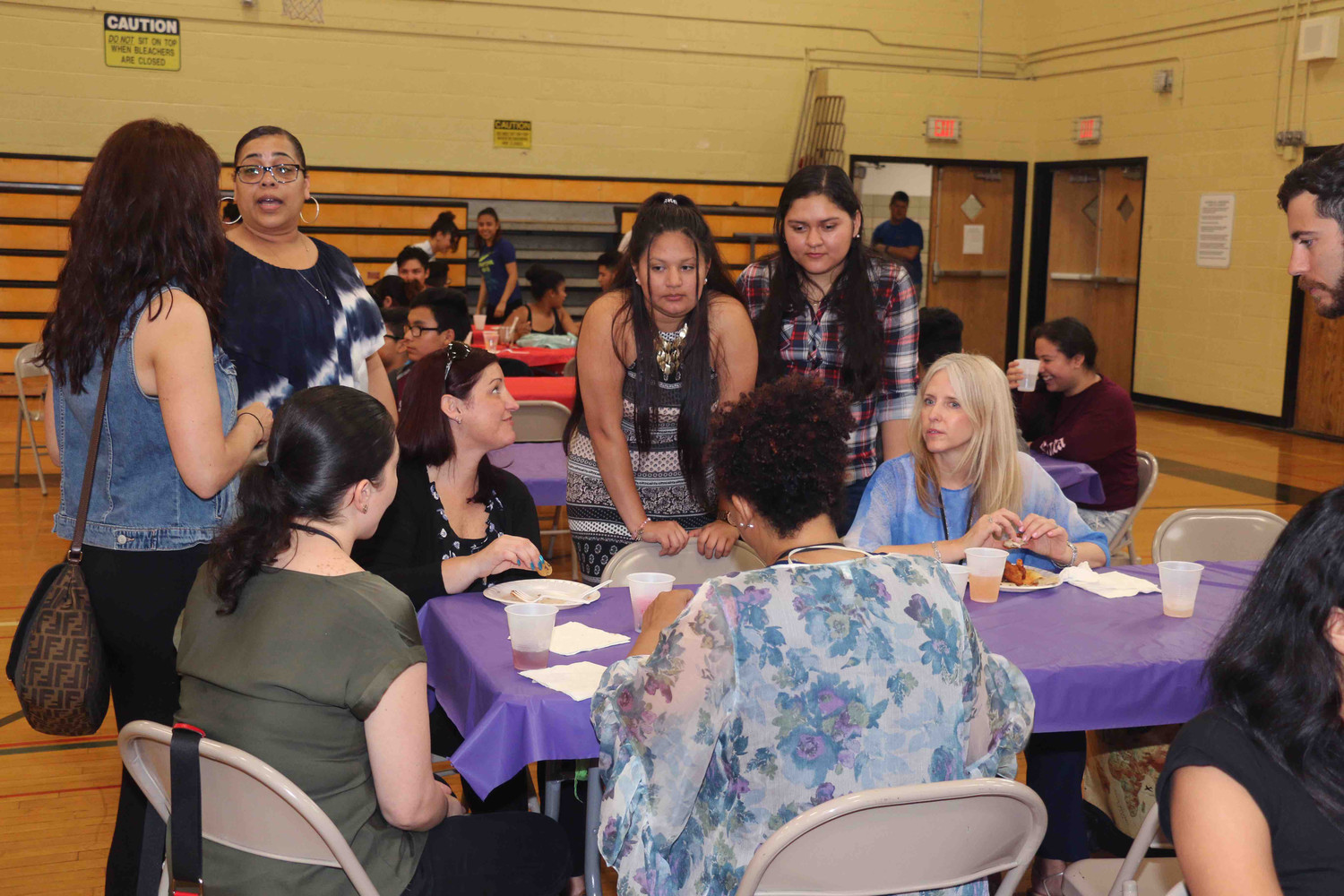 Students and teachers in the West Hempstead ENL program came together to reflect on their progress and look to the year ahead.
