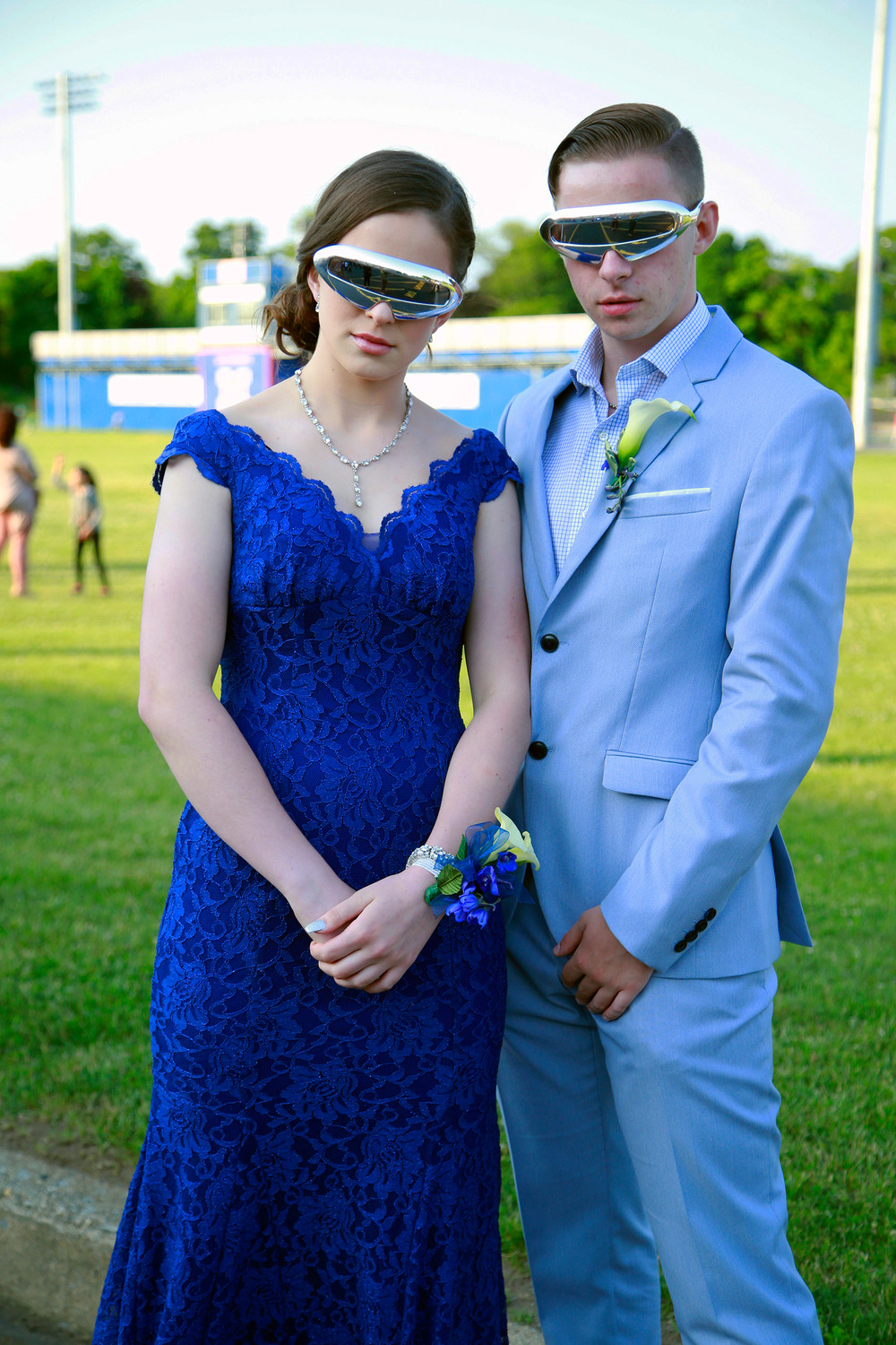Malverne High School seniors Liz Lawless and Shane McGovern were one of many prom couples that dressed to the nines during their pre-prom red carpet bash on June 7.