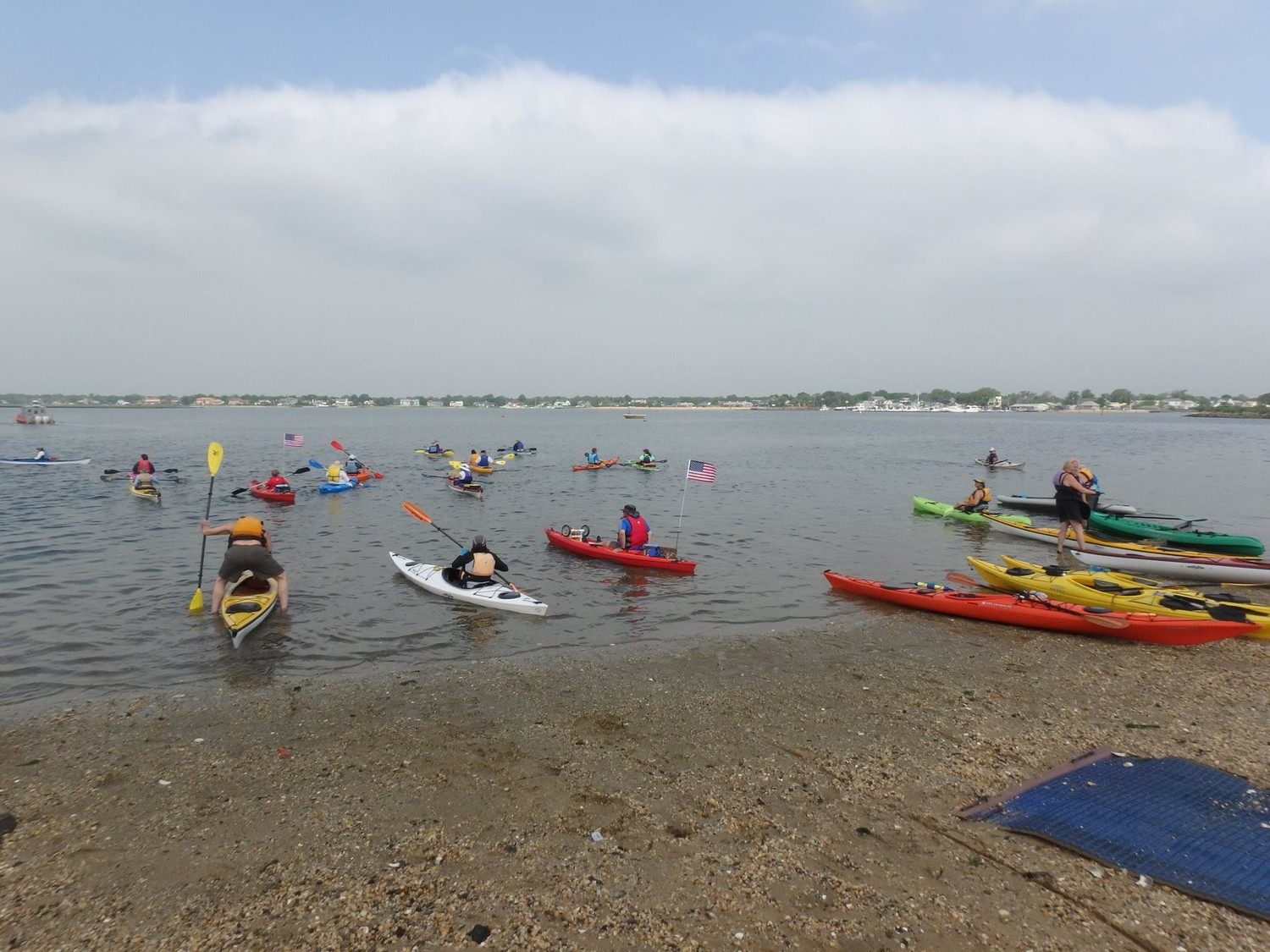 Hundreds of residents are expected to participate in the inaugural South Shore Blueway Festival at Hewlett Point Park in East Rockaway on Saturday.