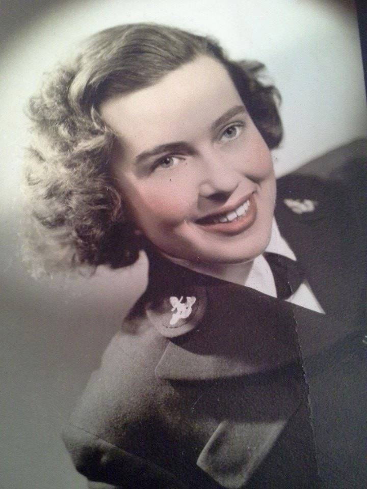 Donna Rigali served in the United States Navy during World War II