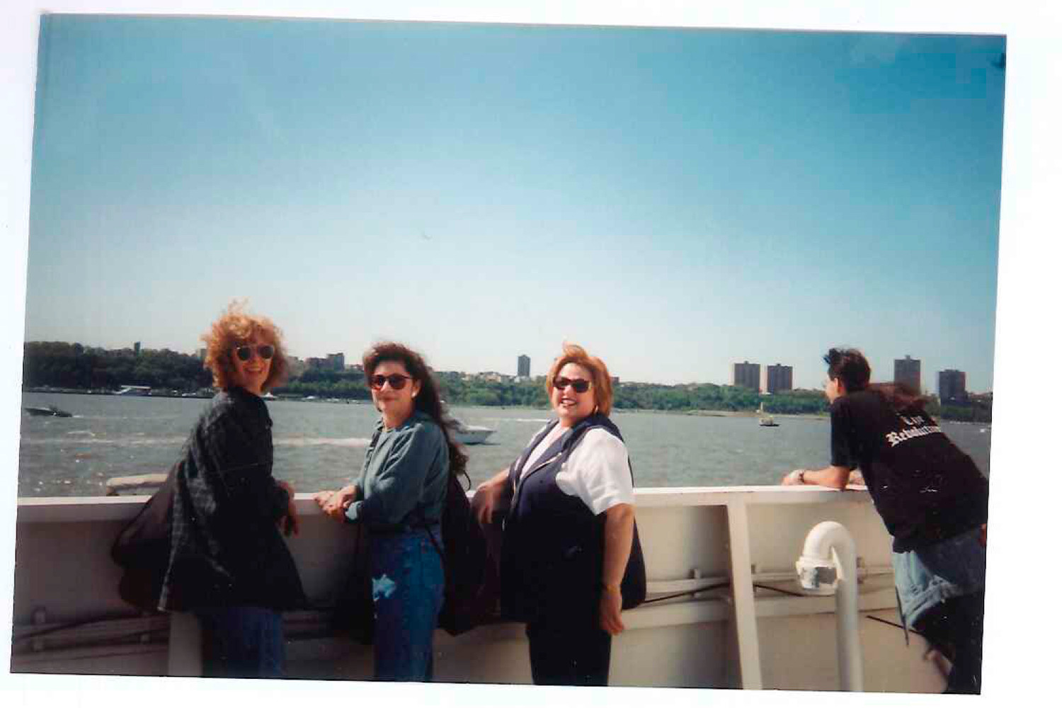The photos taken on the boat cruise around NYC, above right, and of a man on the phone,  were not claimed yet. If you think you know who they are, send us a tip.