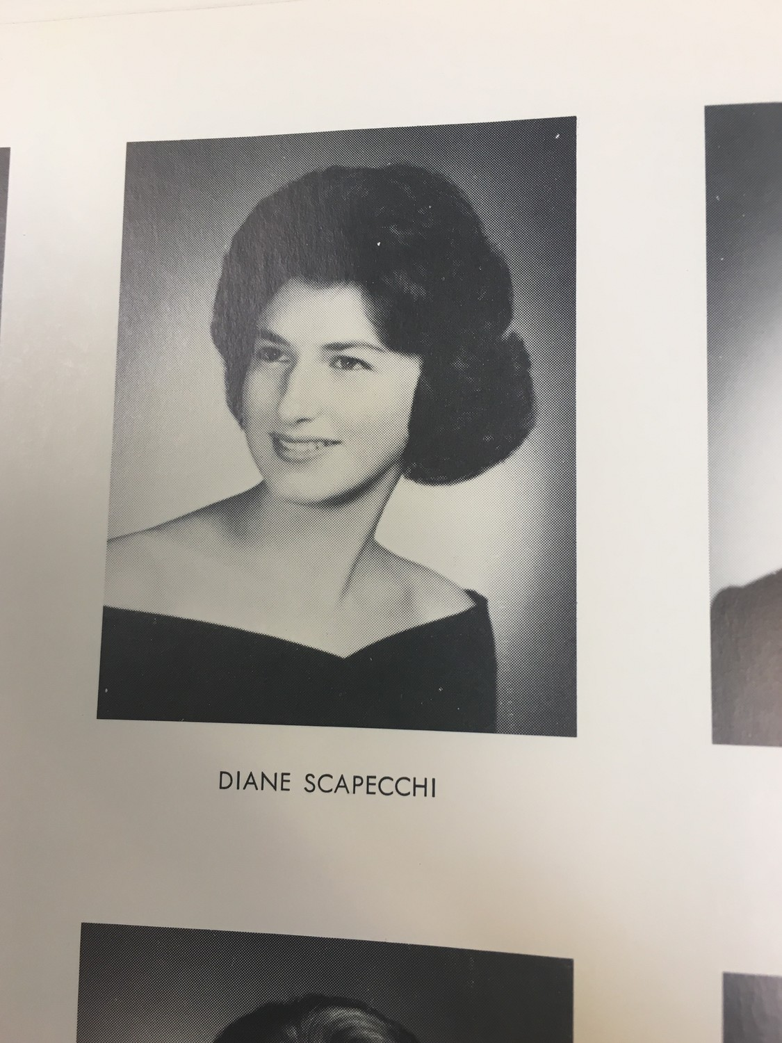 Lorraine Sandeen suggested that the wedding photo that is hanging up at Brancard's Delicatessan, at left, may be of Diane Scapecchi, whom she graduated Central High School in 1962.