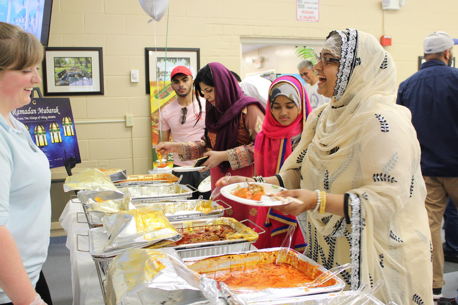 More than 500 Muslims gathered at the community center on June 16 for an Eid celebration.