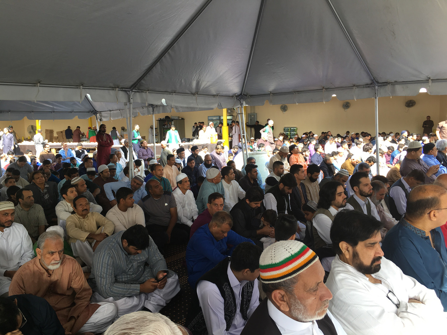 From Mecca to the Hamza Mosque in Valley Stream, Muslims celebrated the end of Ramadan on Eid al-Fitr, June 15.