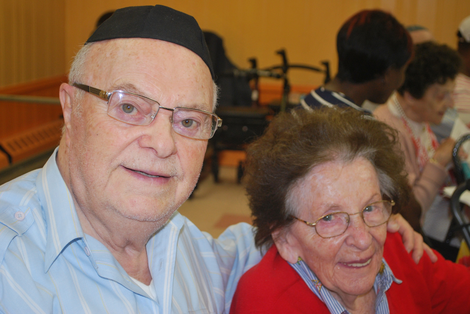 Woodmere residents Jack and Bonnie Rybsztajn are Holocaust survivors who have been married 74 years.