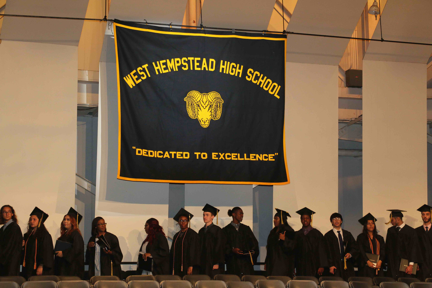 Living up to their motto, W.H. High School's class of 2018 is dedicated to excellence.