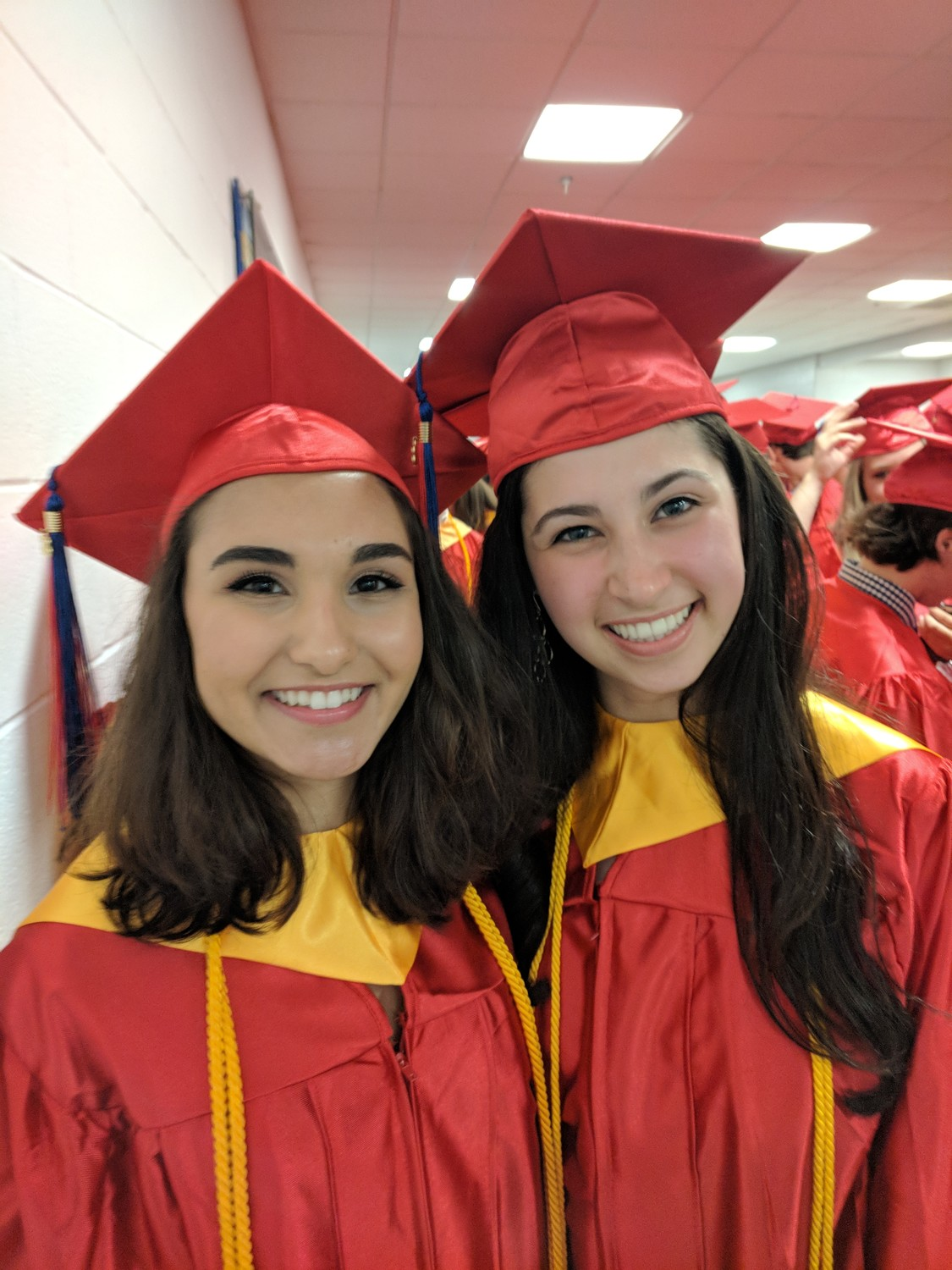 """We're moving on to the next chapter in our lives,"" Colette Brancaccio, right, said next to Katherine Bacchi."