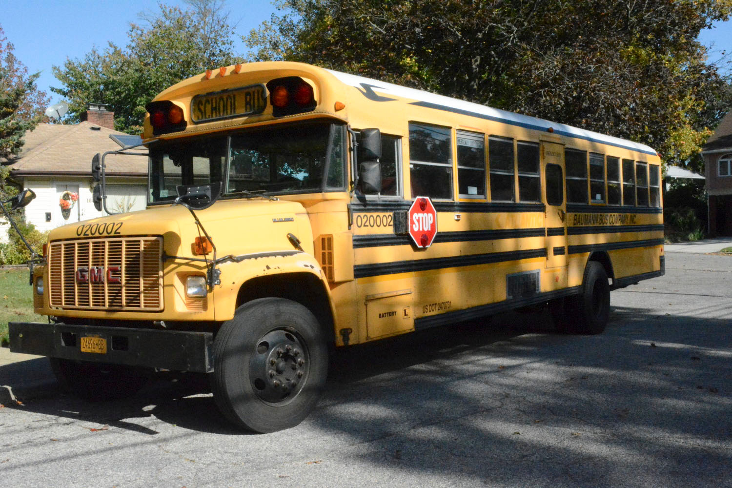The district renewed its contract with Baumann Bus Company, which went on strike for two weeks last year.