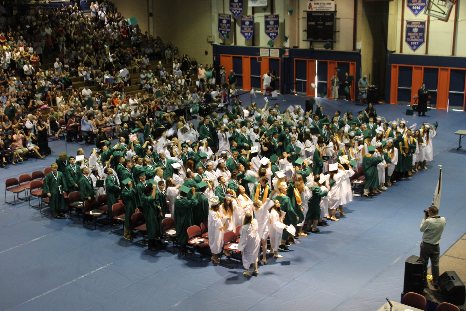 At Seaford High School's 61st annual commencement ceremony, 178 Vikings graduated and were presented with their high school diplomas.