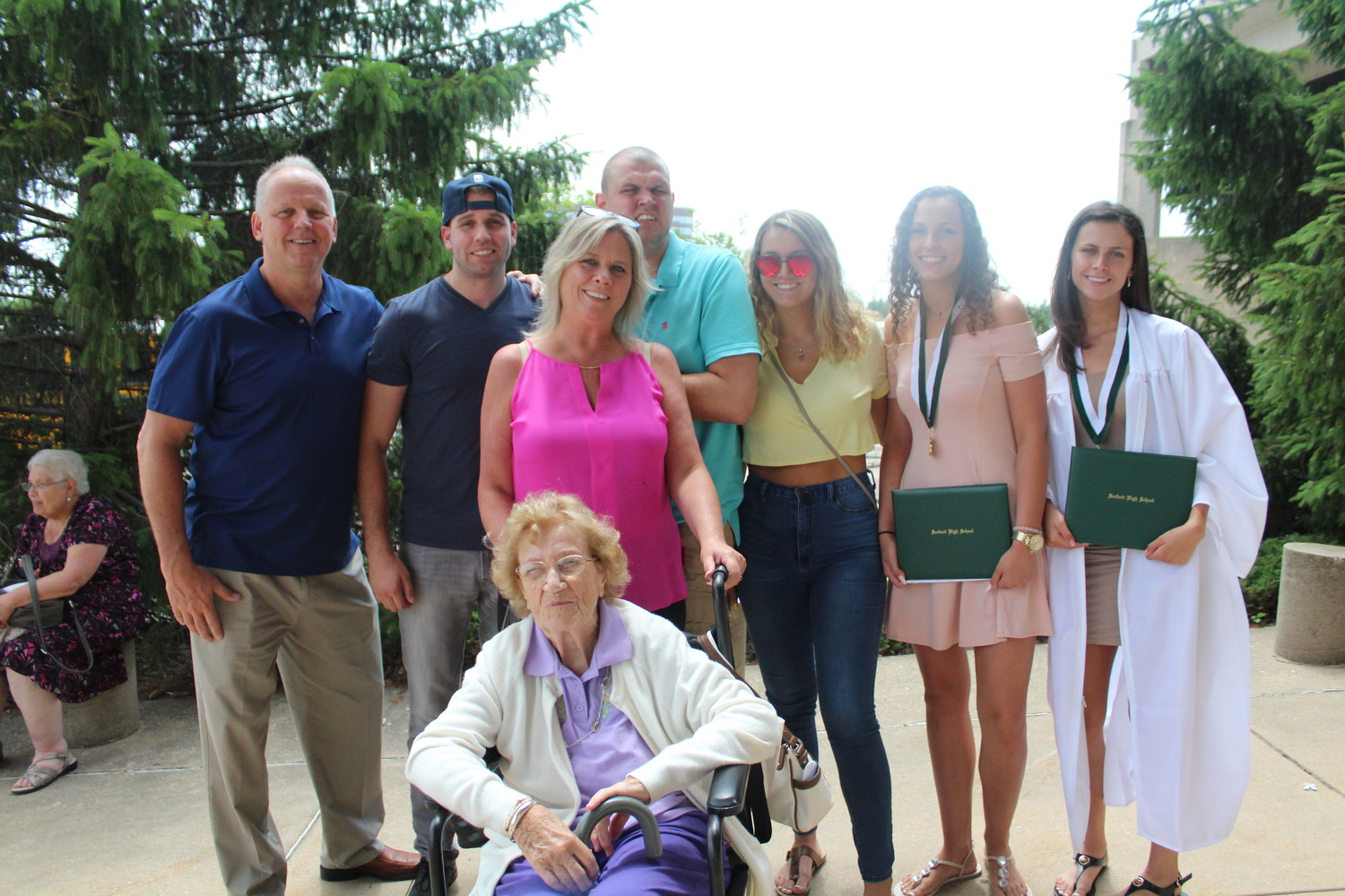 The Siler family celebrated Jenna and Julia's graduation. They are known for running Karen's Hope, a charity that provides housing and living assistance to those with developmental disabilities.