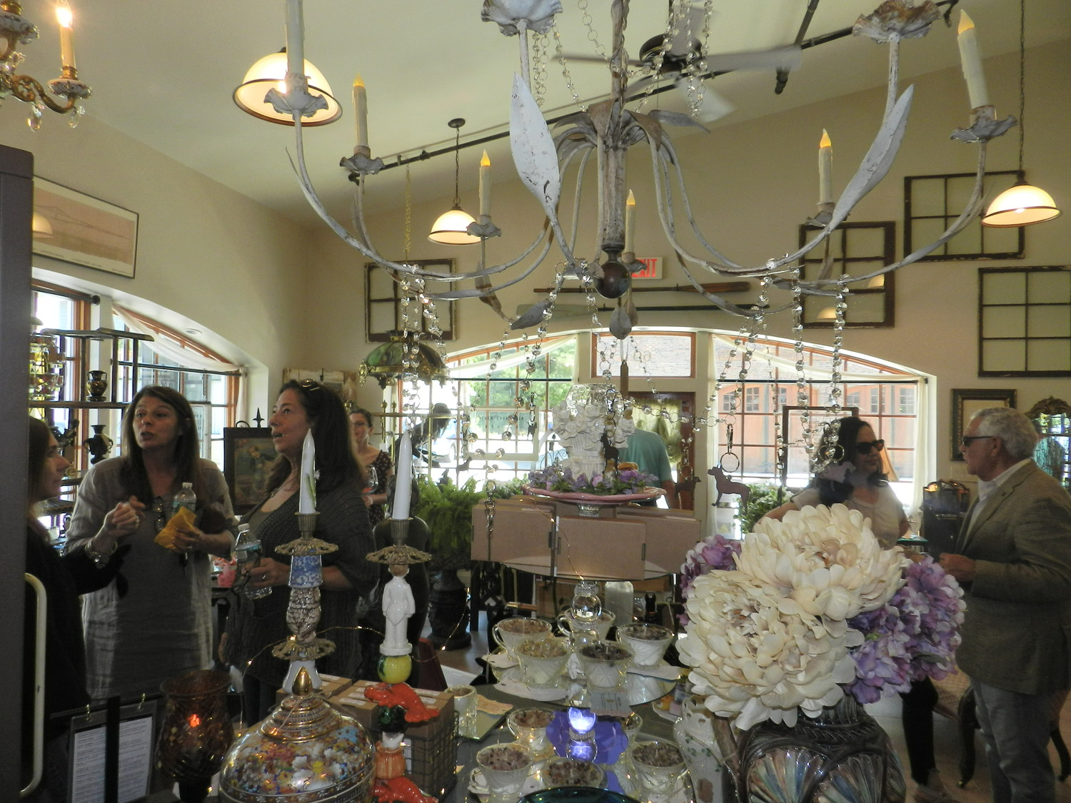 Sea Cliff's fellow business owners attended the grand opening of My Beautiful Mess on June 14.
