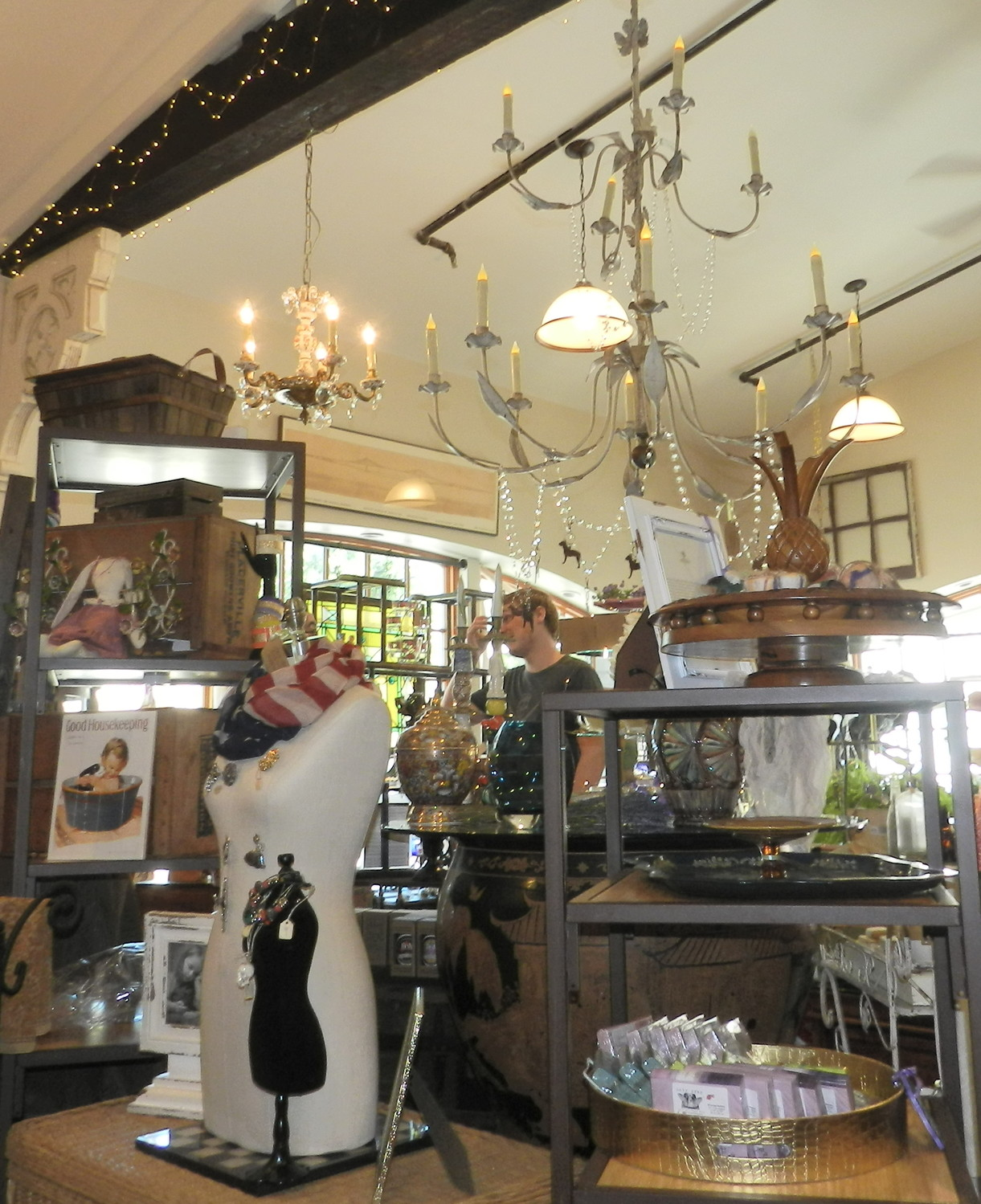 The store boasts antique items from all over the east coast, including Maine, Connecticut, Pennsylvania and Florida.