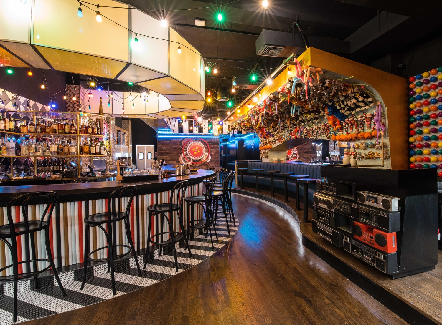 The carnival-themed Bowery Bar & Fare is opening July 9 at 300 Sunrise Highway.