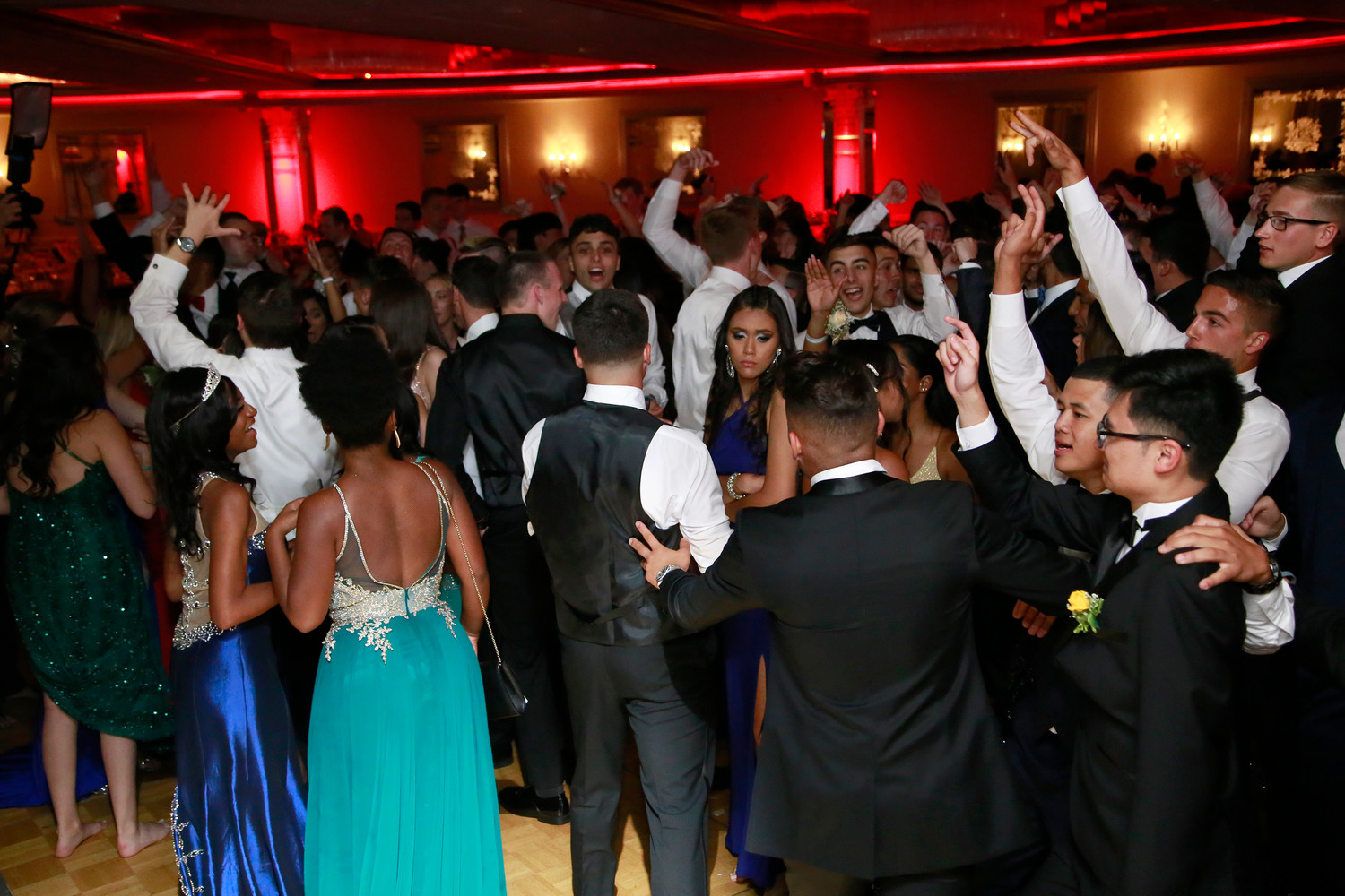 Oceanside's prom for 2018 was held at the Sands in Atlantic Beach. Most went to Dawn Delirium after.