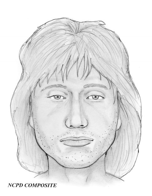 A sketch of the suspect