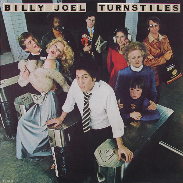 """Turnstiles,"" Billy Joel's 1976 album, was the first that Gilley owned, and part of what pushed him into a career of playing and teaching music, with Joel's style and energy as a guiding light."