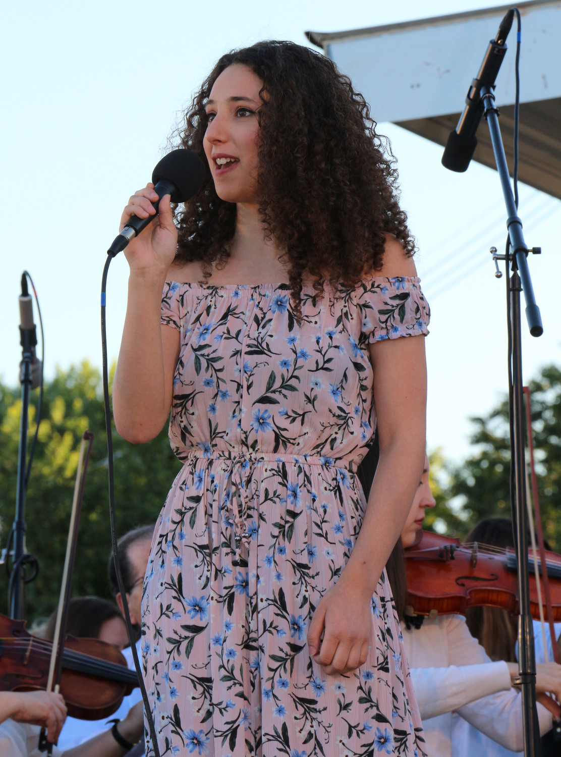 Olivia DeFilippo sang with the South Shore Symphony.