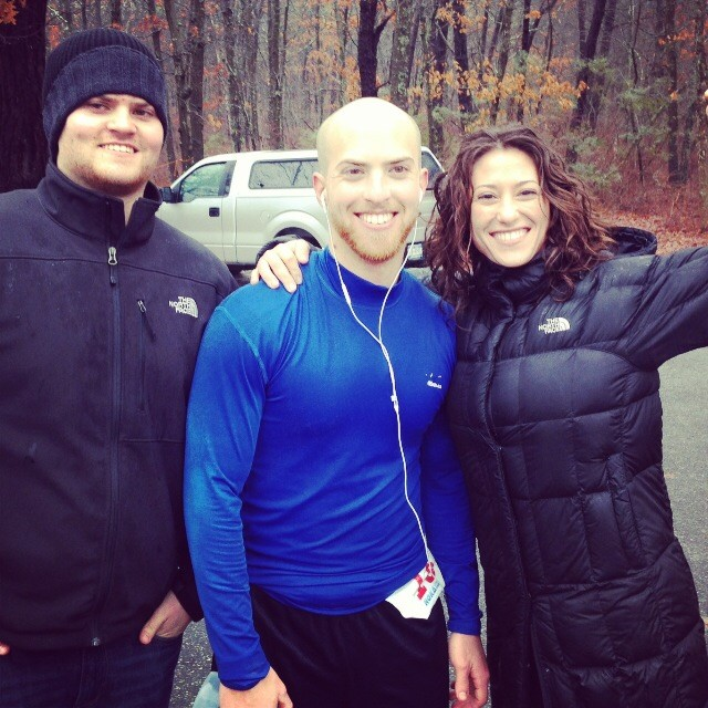 Marshak, center, with his brother, Matt, and sister, Kymberly Napolitano.