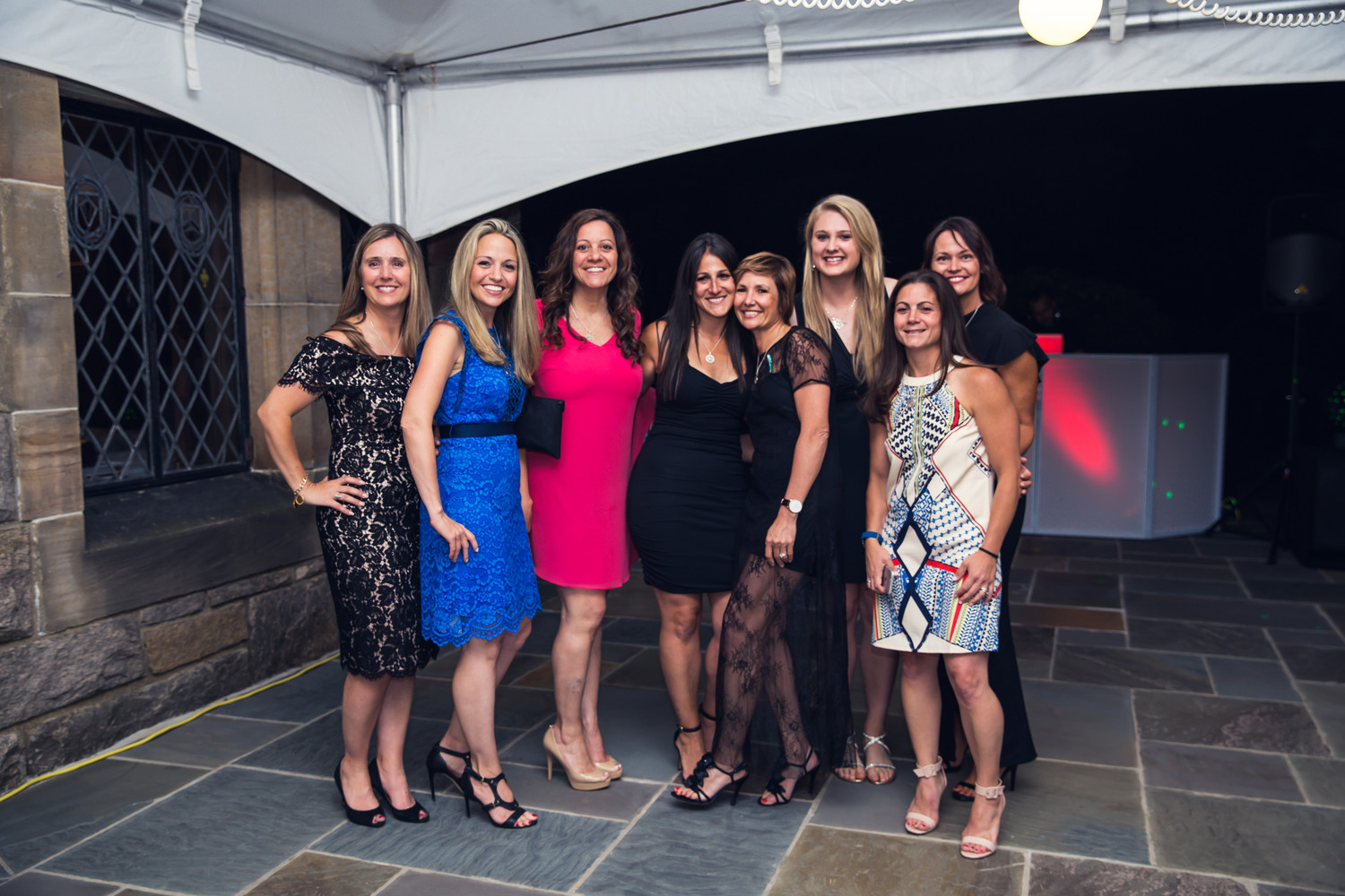 YOLO Strong's board of directors, above, at the organization's first fundraiser gala on June 15.