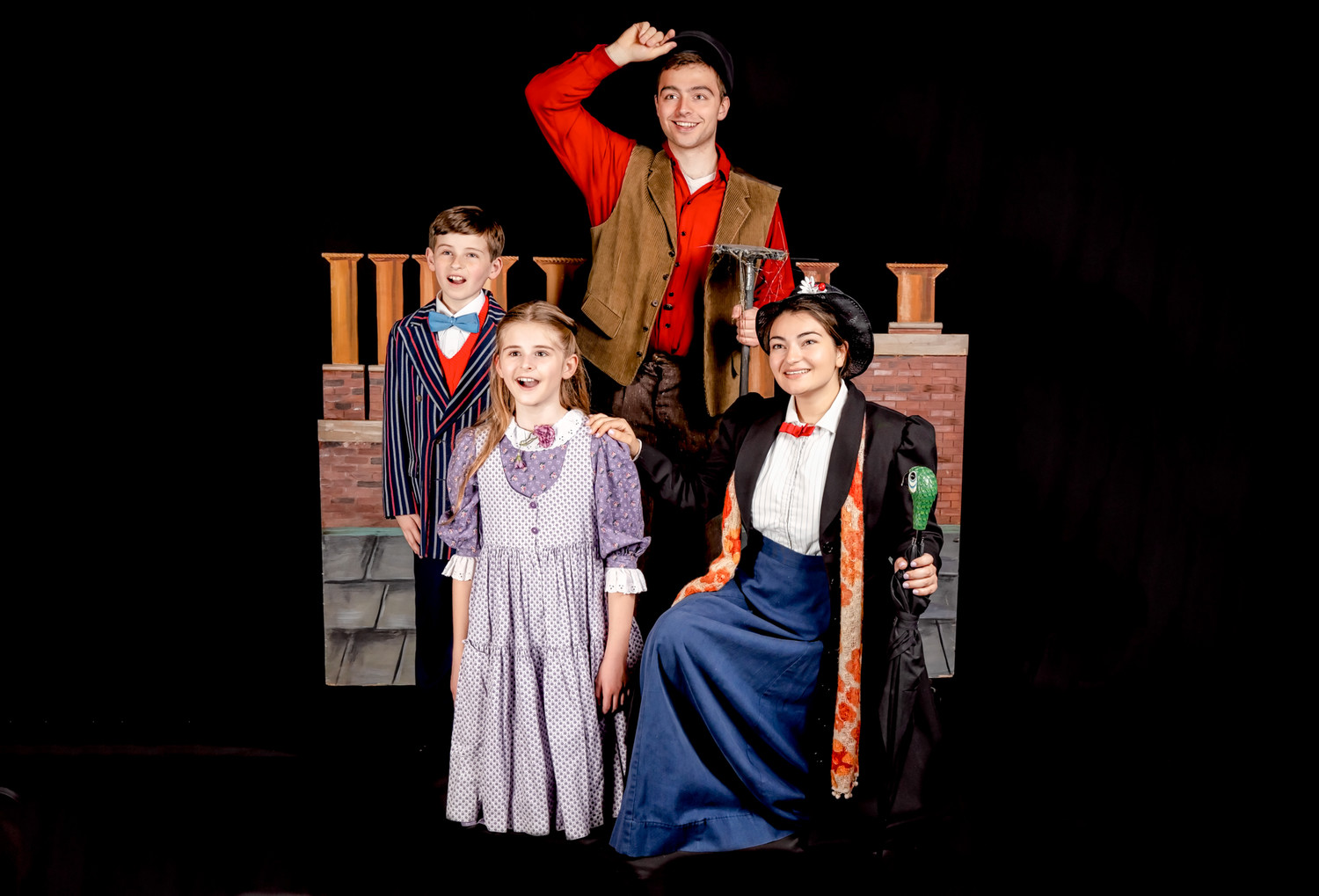 """Mary Poppins"" takes charge on the Long Island Children's Museum stage, Friday through Sunday."