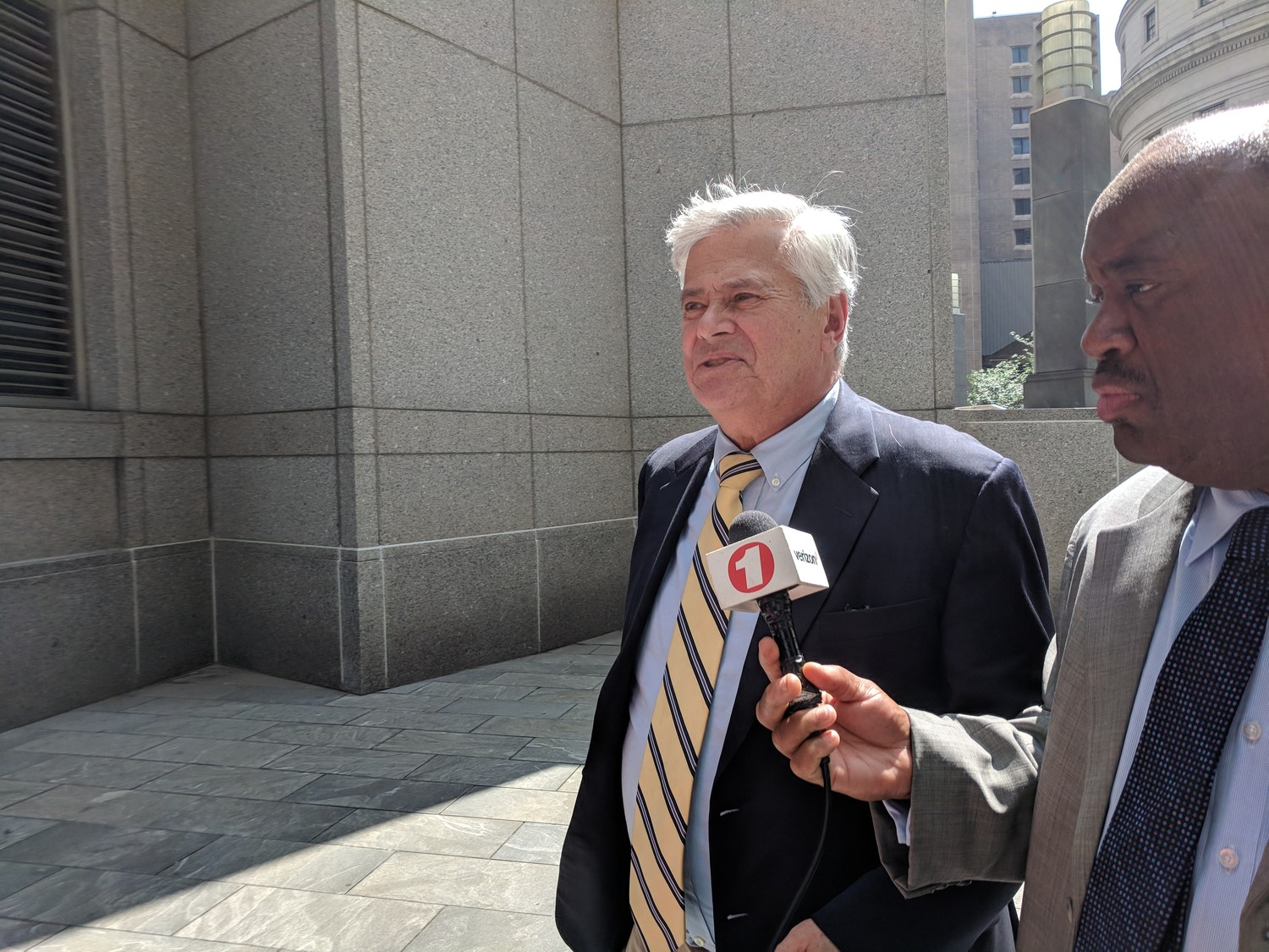 After spending the day in court in Manhattan on June 11, former Senate Majority Leader Dean Skelos told reporters that he was ready for the retrial to be over.