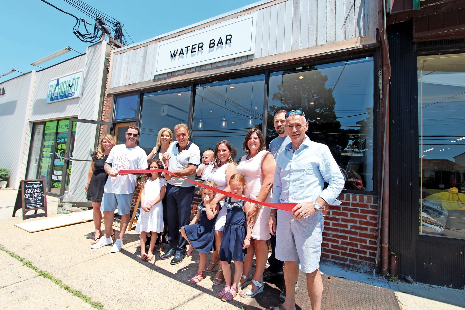 The Waterbar held their ribbon-cutting ceremony on June 30.