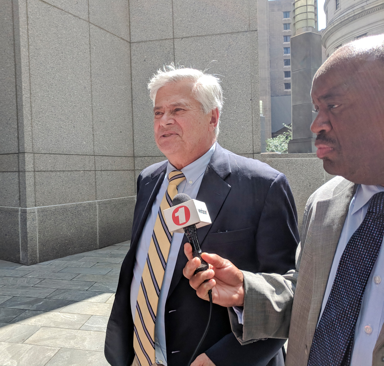 A jury found Dean Skelos, pictured, and his son, Adam, guilty Tuesday after his corruption retrial.