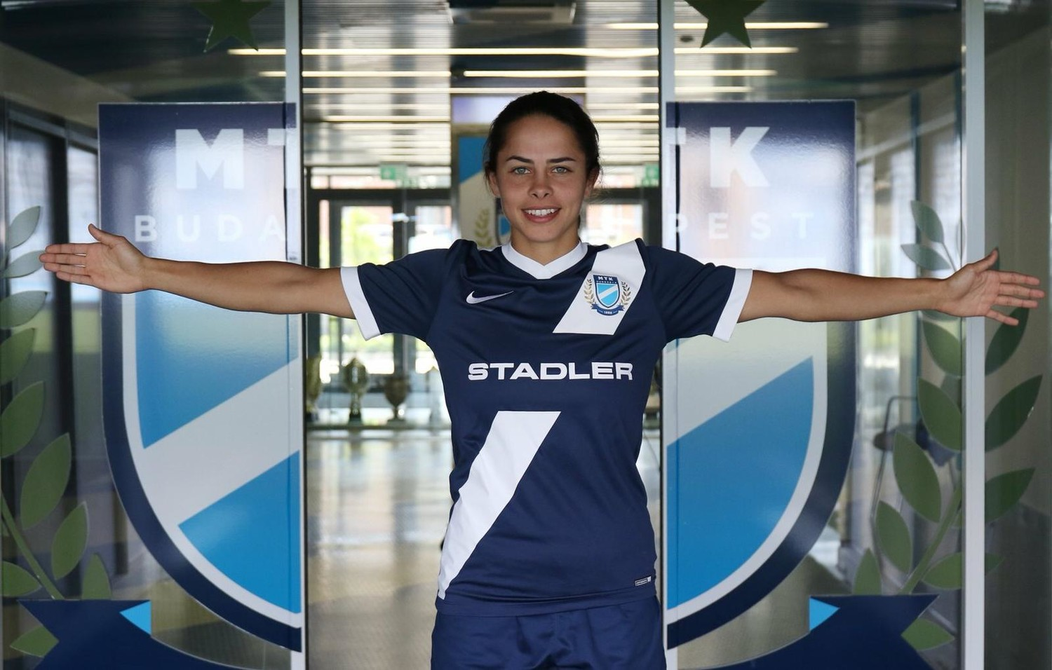 Calhoun High School graduate Kayla Cappuzzo, 22, started playing professional soccer in Budapest on July 2.