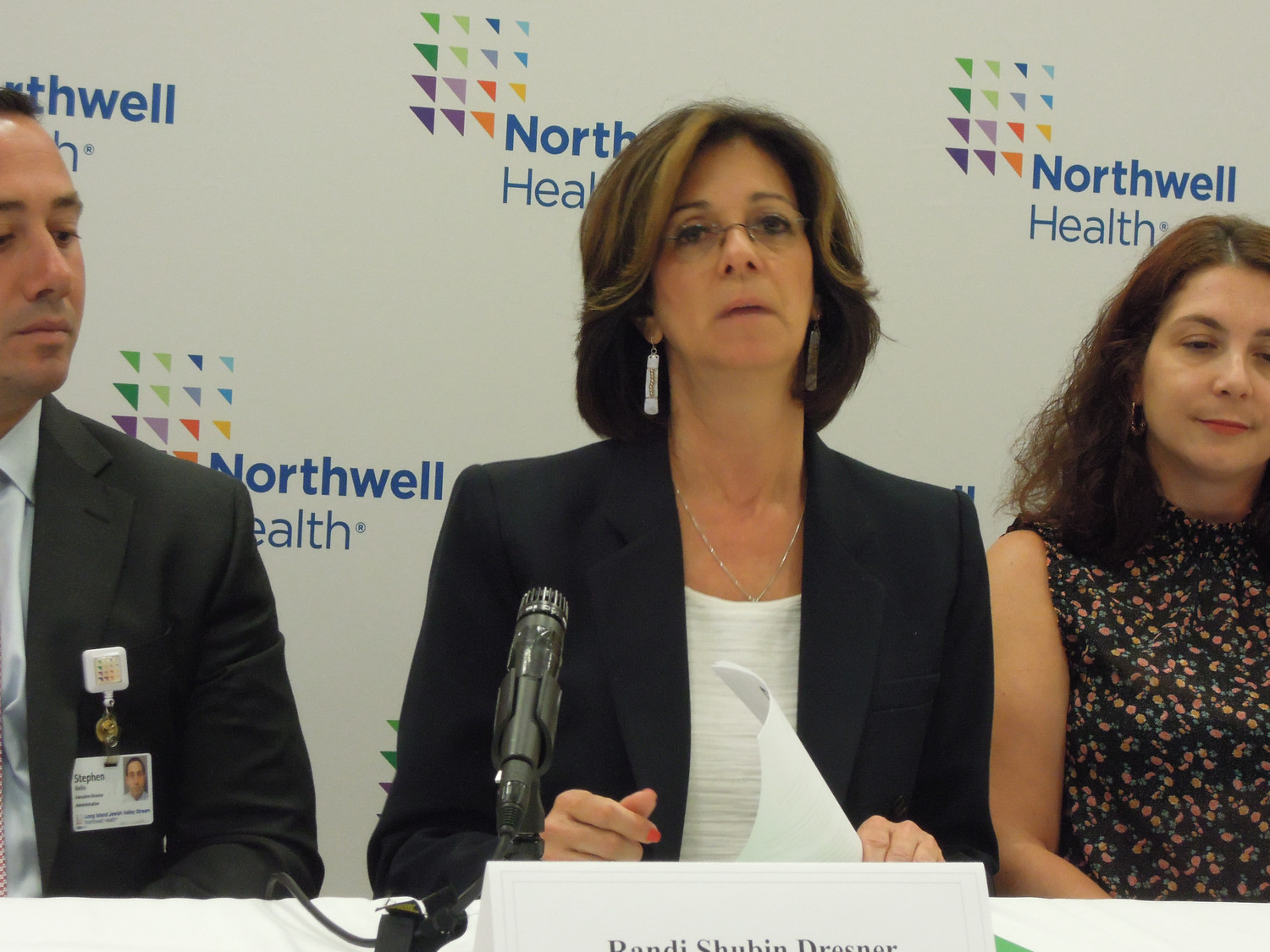 Island Harvest President and CEO Randi Shubin Dresner worked with Northwell to develop a holistic approach.
