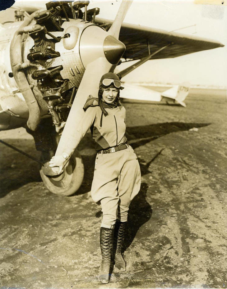 "'There isn't anything that a female pilot can't do that a male pilot can do in a plane,"" Smith once said."
