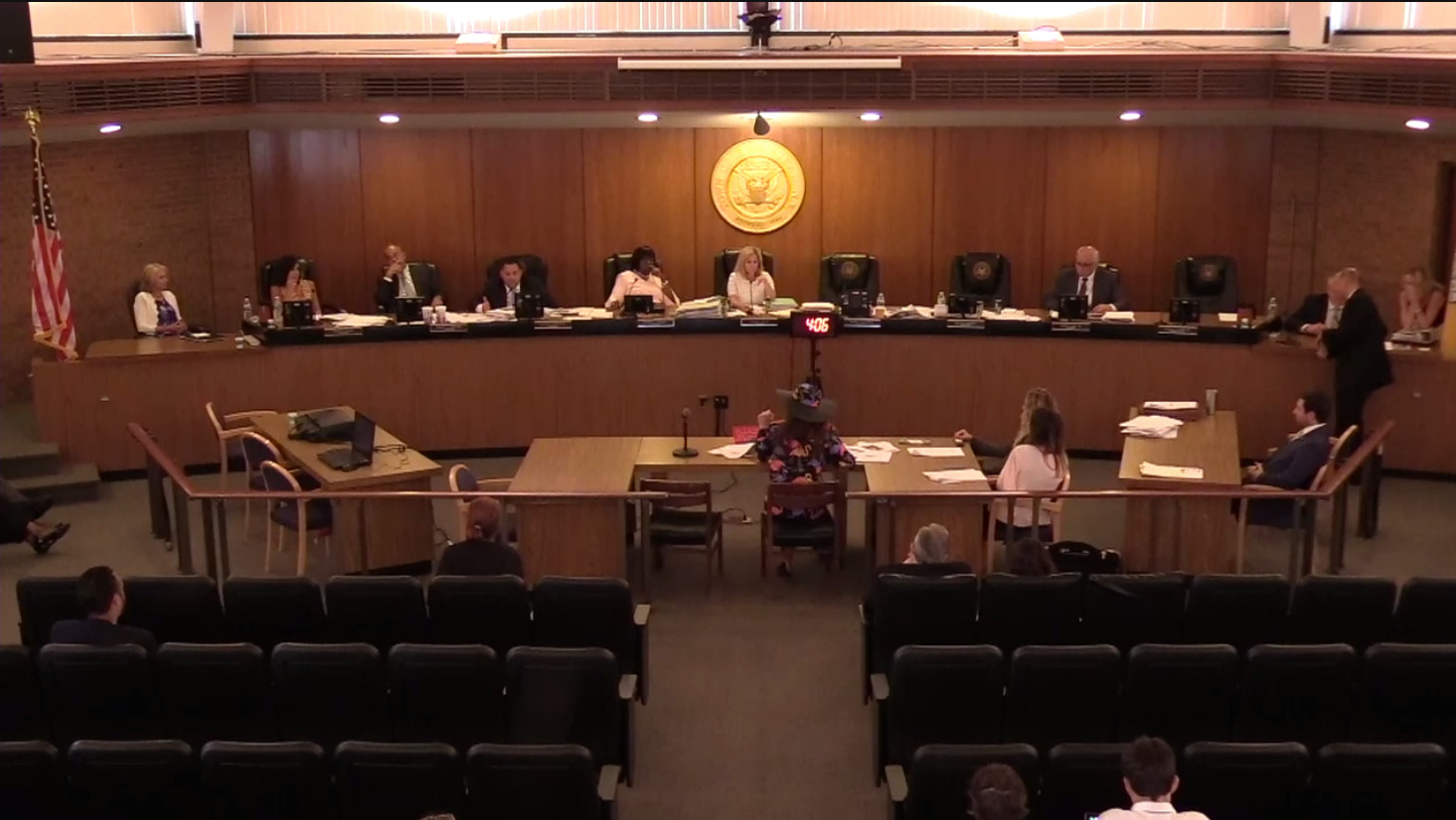 On Tuesday, Republican members of the Hempstead Town Board blocked — for the third time — debate on a proposal to fill vacancies on the board with special elections rather than by appointment. They also passed a rule change that could prevent the issue from being brought up again.