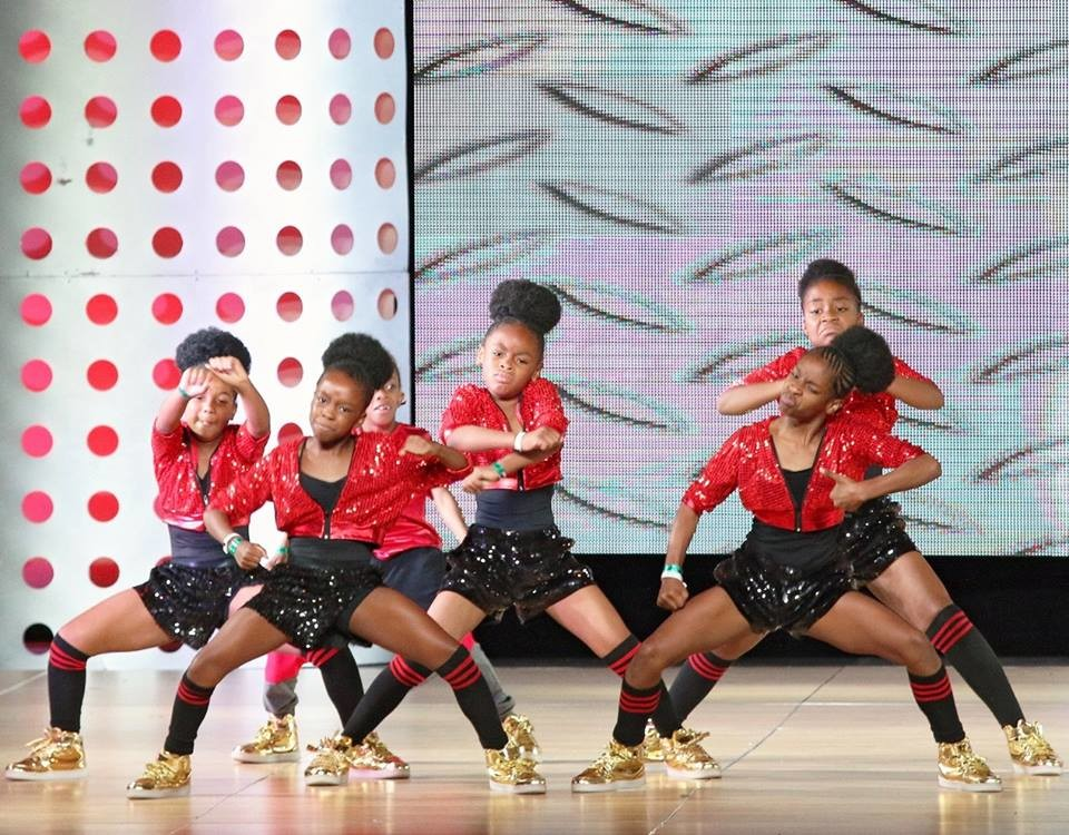 Layla's Drum and Dance Jr. Division Dancers at last year's Hip-Hop International's World Hip-Hop Competition.
