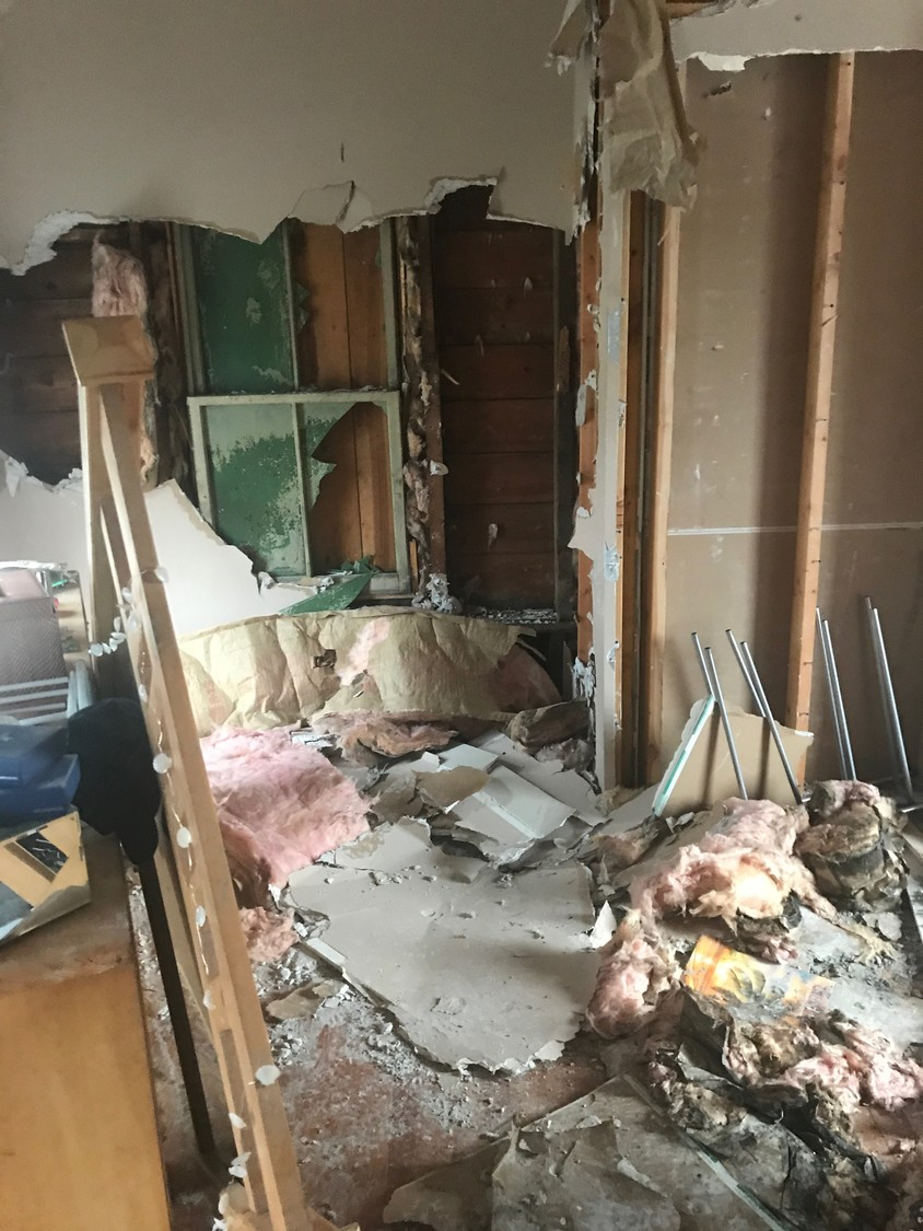 This is what was left of 18-year old Allison Prete's room after a March 20 fire destroyed her home — just months before prom and graduation