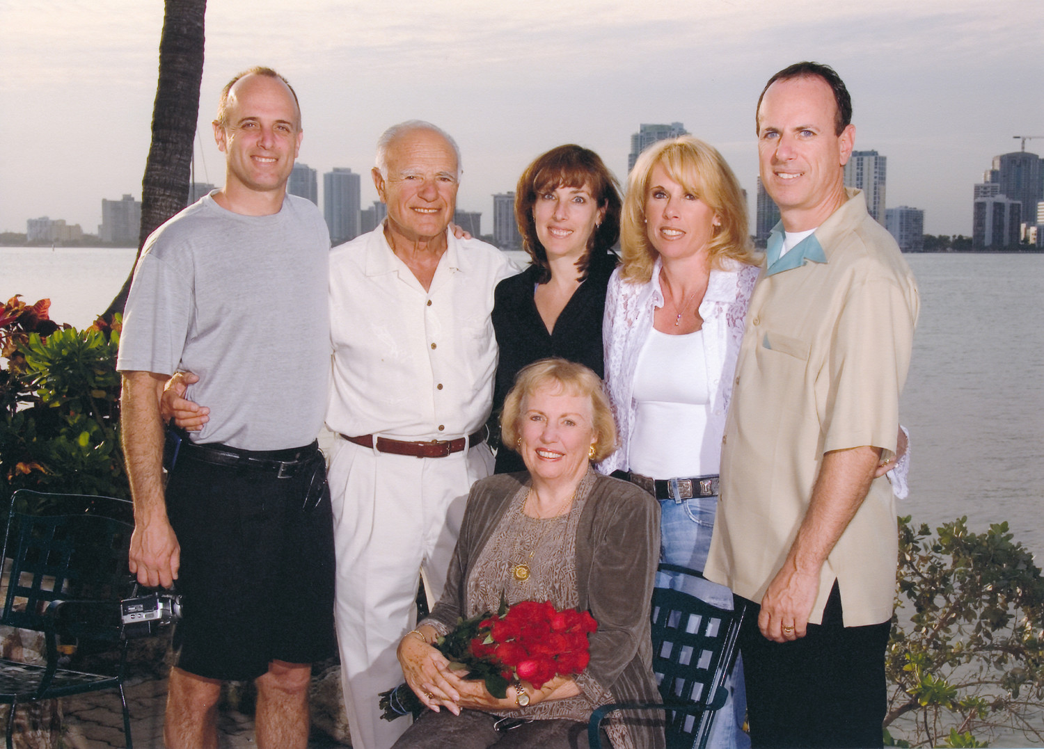 In 2005, clockwise from left, Jeff, Jack, Alisa, Susan, Bobby and Sandra.