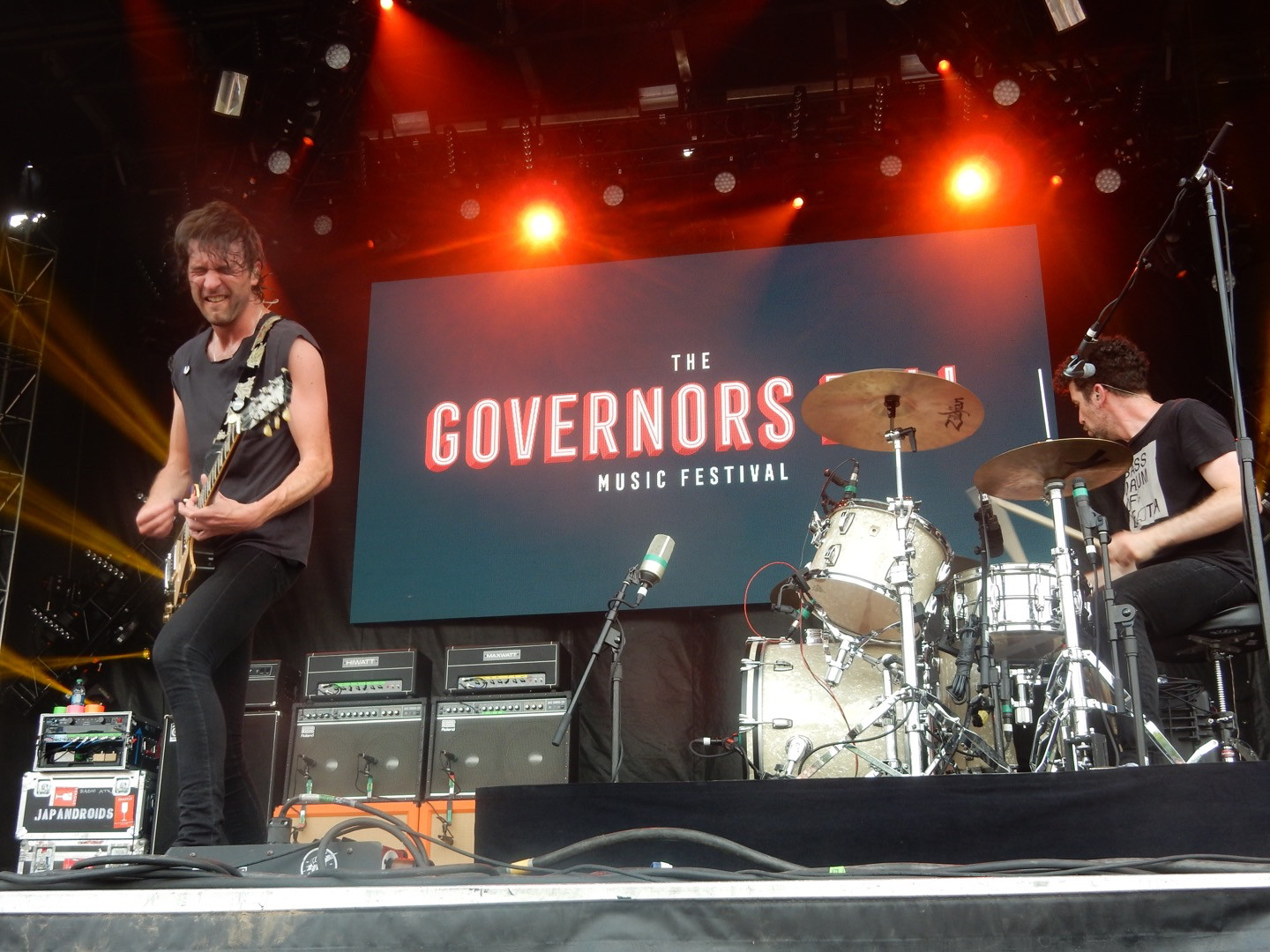 Japandroids rocked Governors Ball in June.