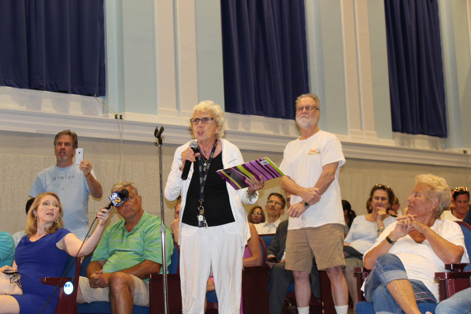 Barbara Levitz, of Island Park, said her water bill had increased by $200.