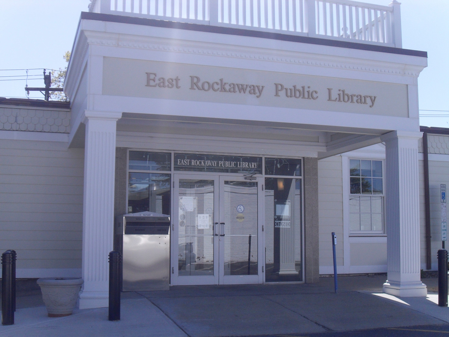 Over the next two months, East Rockaway Public Library Director Mary Thorpe said, the board of directors plans to discuss adding a Rave security app to alert all of the library's staff and local law enforcement in emergency situations.