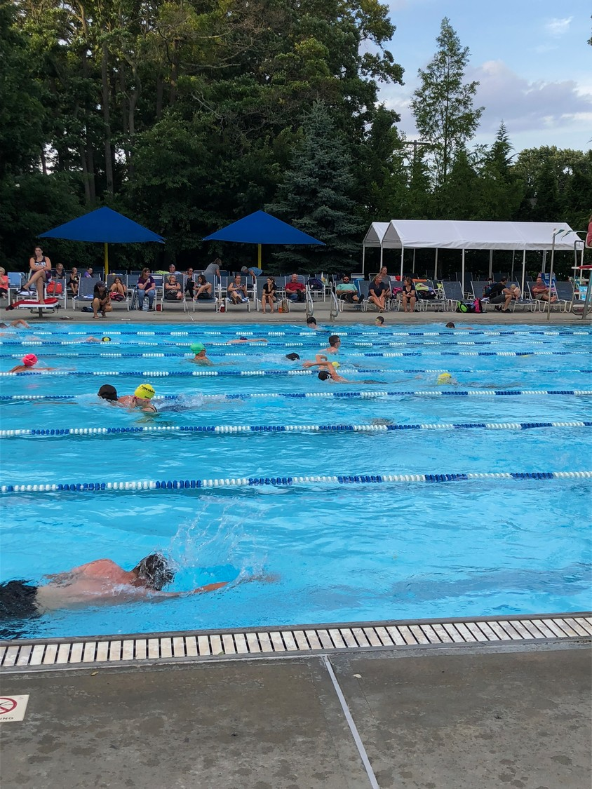 The 9th annual Lynbrook Swim Across America event on Aug. 1 raised $16,000 for cancer research.