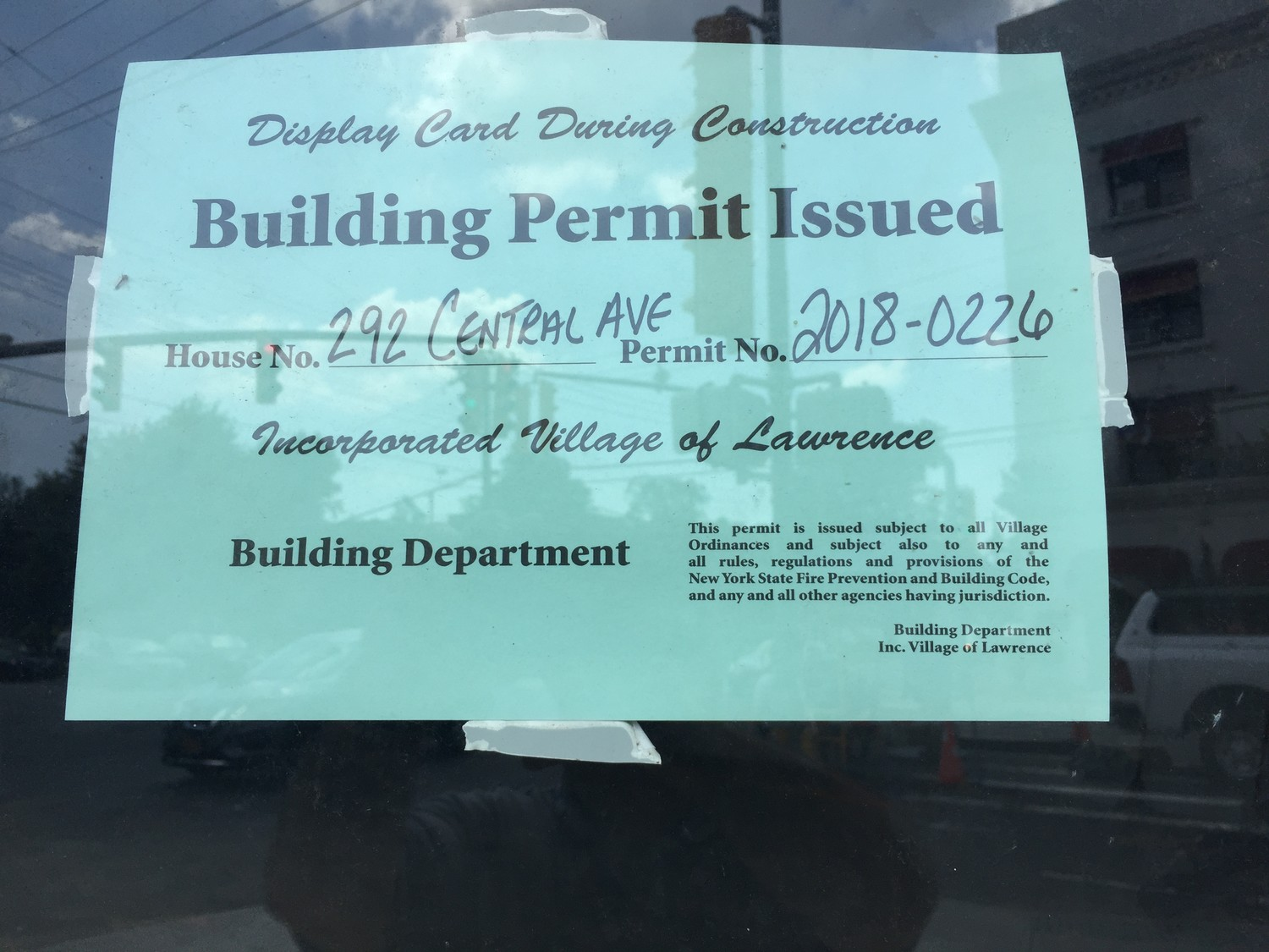 Several vacant spaces on Central Avenue in Lawrence have construction permits, indicating that they will not be empty much longer.