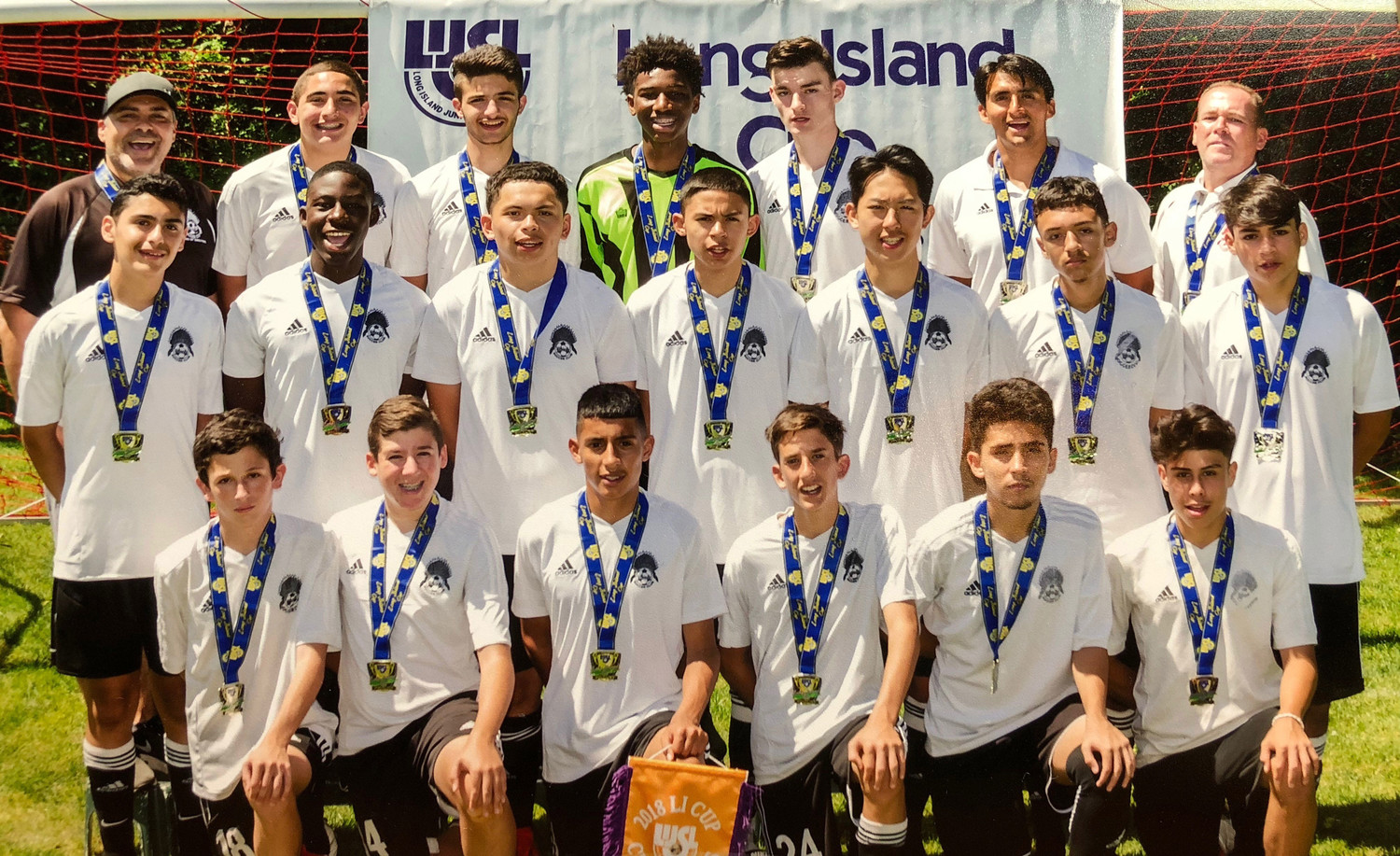 The 15-and-under Seminoles won the Long Island Junior Soccer League's Long Island Cup.