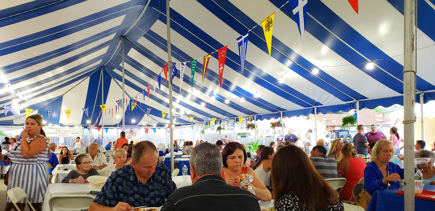 Over last weekend from Thursday, Aug. 16 through Sunday, Aug. 19, thousands flocked to Panaghia of Island Park Greek Orthodox Church, according to organizers, to celebrate the annual summer Greek Festival, which including indulging in traditional Greek culture and cuisine.